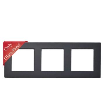 SMARTZILLA moduláris 3-as üveg keret fekete