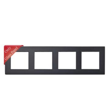 SMARTZILLA moduláris 4-es üveg keret fekete