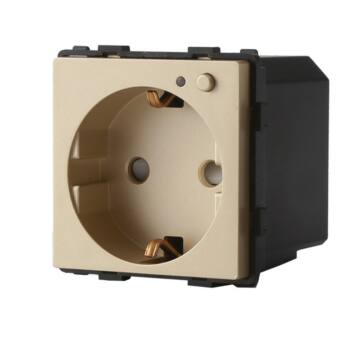 SMARTZILLA 16A EU moduláris 230V aljzat Wifis arany