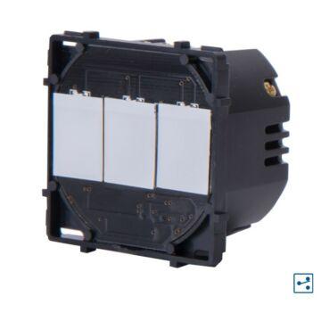 SMARTZILLA moduláris kapcsoló 1600W 3 csatornás Wifis