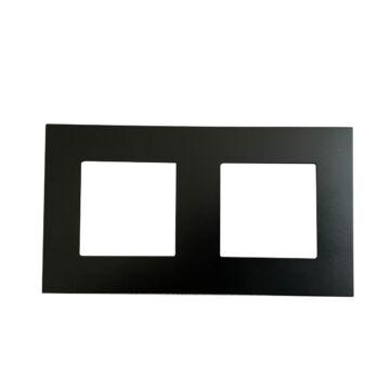 SMARTZILLA moduláris 2-es plastic keret fekete