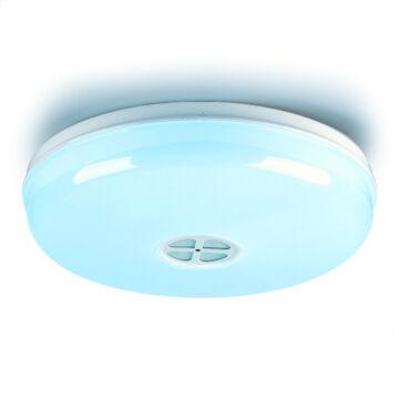 SMARTZILLA Wifis, hangszórós LED mennyezeti lámpa