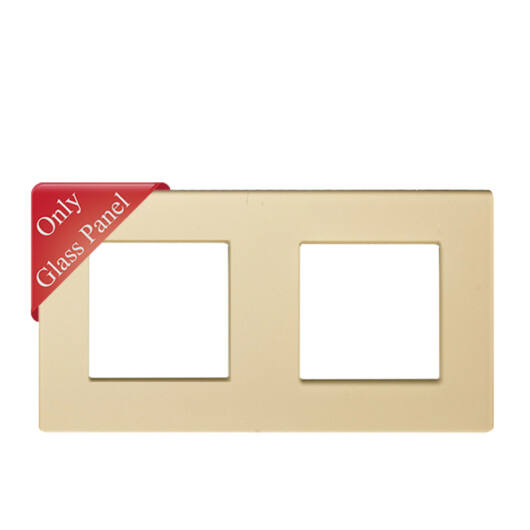 SMARTZILLA moduláris 2-es üveg keret arany