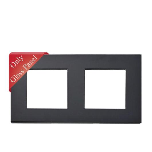 SMARTZILLA moduláris 2-es üveg keret fekete