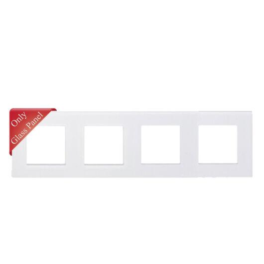 SMARTZILLA moduláris 4-es üveg keret fehér