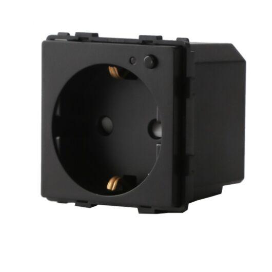 SMARTZILLA 16A EU moduláris 230V aljzat Wifis fekete