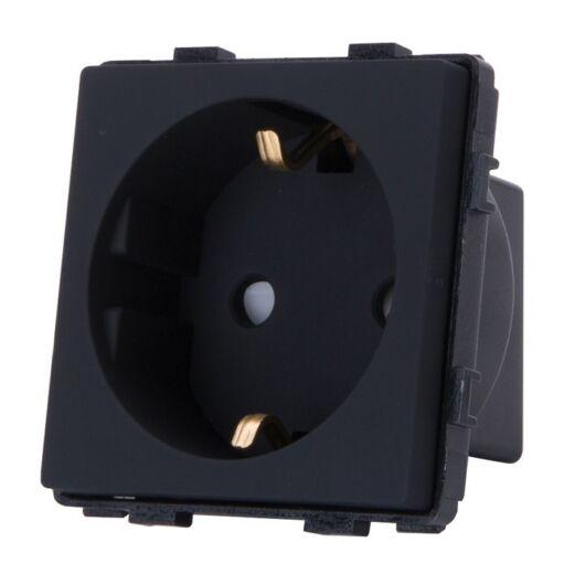 SMARTZILLA 16A EU moduláris 230V aljzat fekete