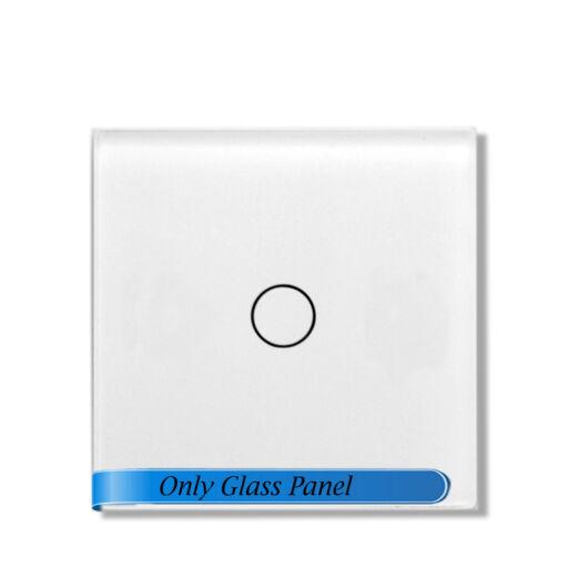 SMARTZILLA moduláris üveg panel kerethez, 1 csatornás kapcsolóhoz fehér