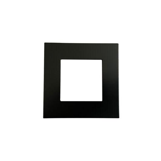 SMARTZILLA moduláris 1-es plastic keret fekete