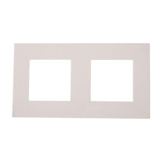 SMARTZILLA moduláris 2-es plastic keret fehér