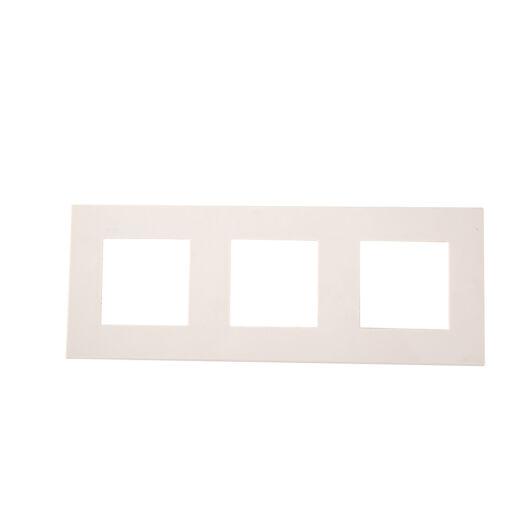 SMARTZILLA moduláris 3-as plastic keret fehér