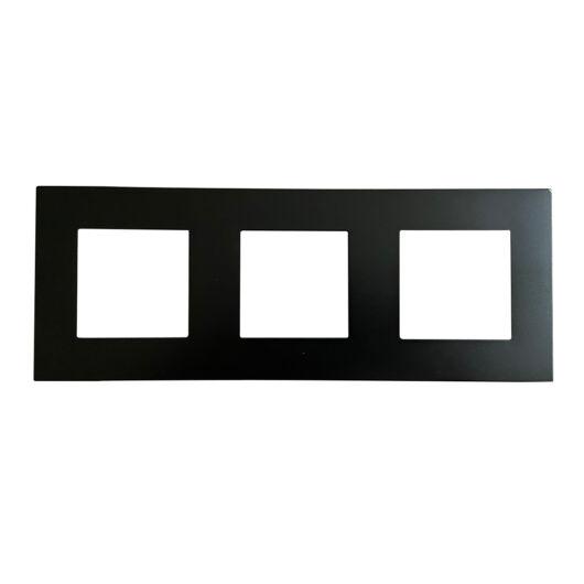 SMARTZILLA moduláris 3-as plastic keret fekete