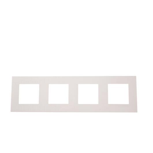 SMARTZILLA moduláris 4-es plastic keret fehér