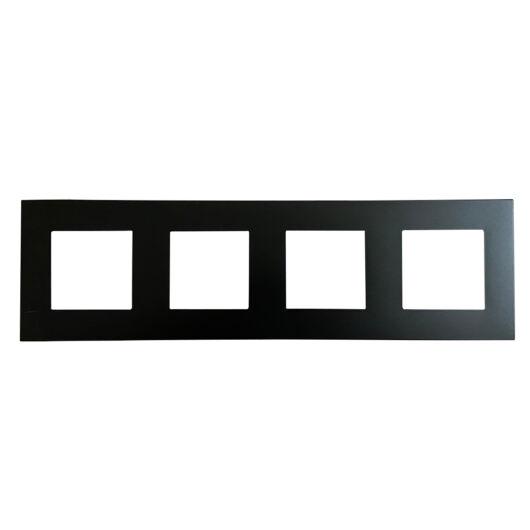 SMARTZILLA moduláris 4-es plastic keret fekete
