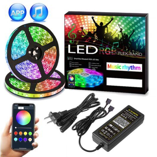 SMARTZILLA Wifis RGB LED szalag, 2x5m - beltéri