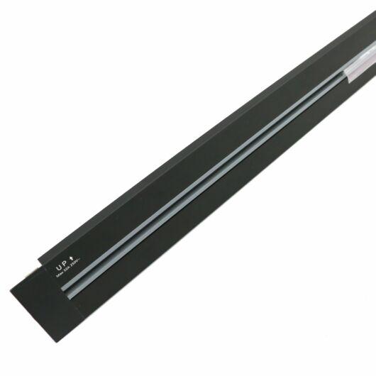 SMARTZILLA SmartTrack dugalj sín, 0,8M, beépíthető, fekete