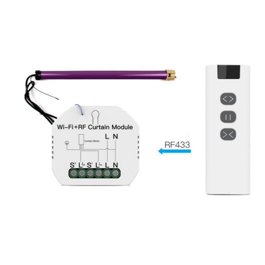 SMARTZILLA WIFI elektromos, motoros  függöny vezérlő kapcsoló