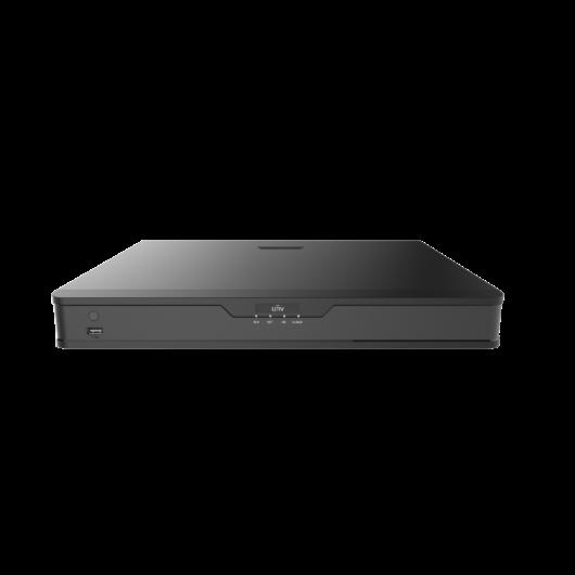 Uniview NVR rögzítő 16ch  8 BNC/5MP 64Mbps